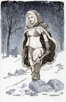 Red Sonja Commission by Dave-Acosta