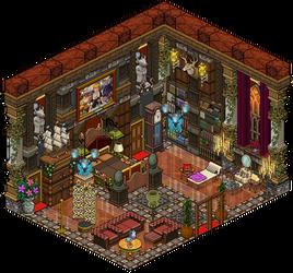 Mansion - Bedroom by Cutiezor