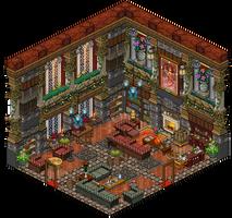 Mansion - Living room by Cutiezor