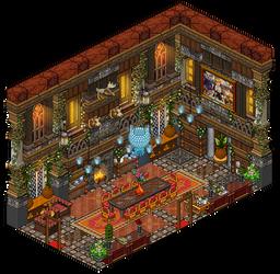 Mansion - Dining room by Cutiezor
