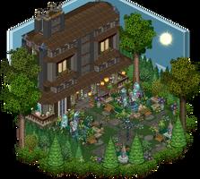 Mansion - Garden by Cutiezor