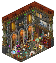 Mansion - Hobby room by Cutiezor