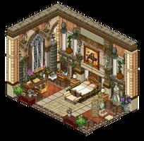 Mansion - Bedroom 2 by Cutiezor