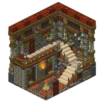 Mansion - Hall room 2 by Cutiezor