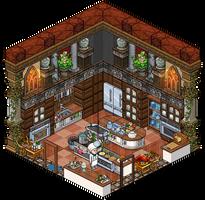 Mansion - Kitchen by Cutiezor