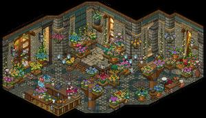 Flower Shop by Cutiezor