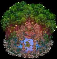 Ancient ruin by Cutiezor