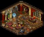 19th century study room by Cutiezor