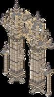 Colossal Gateway by Cutiezor