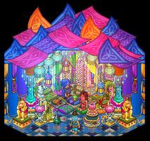 Sultan's pleasure tent by Cutiezor