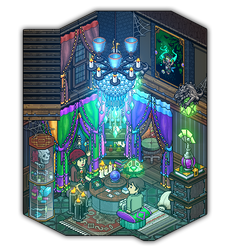 Madam Una ~ Fortune teller's room by Cutiezor