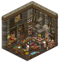 Medieval Kitchen by Cutiezor