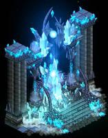Galaxy throne design by Cutiezor