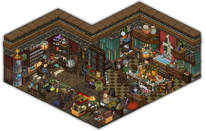 House of family Wilson ~ Bewitched HPRPG hotel by Cutiezor