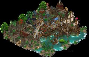 Port city by Cutiezor