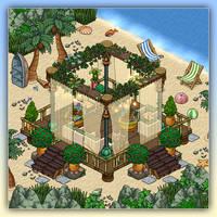 Beach lounge by Cutiezor