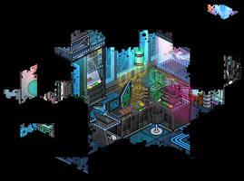 Cyber hideout by Cutiezor