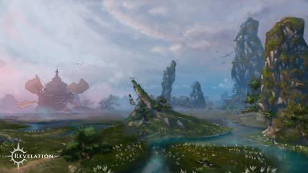Revelation Online - Muroc Wetlands by Cutiezor