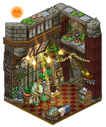 Cozy hobby room by Cutiezor