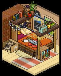 Cozy bedroom design by Cutiezor