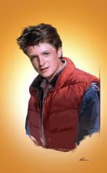 Marty McFly by DavidSeguin