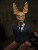 another rabbitman wip by tiivik