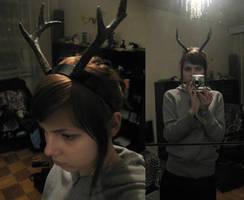 deer horns by tiivik