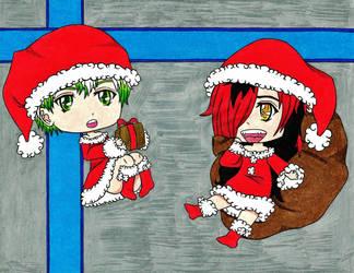 RiikuxShiro: Merry Christmas by japanese-freak-show