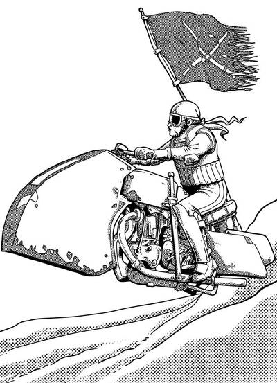 Desert Biker by pictishscout