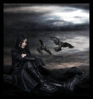 The Crow by FaerieNymph