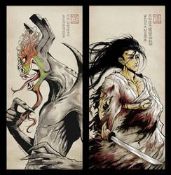 The Master of Darkness, The Foolish Samurai by lielurr