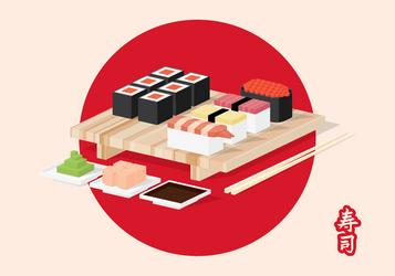 Sushi Isometric-01 by mirzaercin