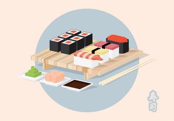 Sushi Isometric-02 by mirzaercin