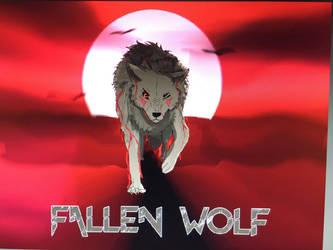 Fallen Wolf commission (coms open) by QueenInWonderland