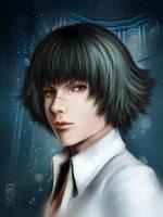 LADY _ Devil may cry 3 by Zetsuai89