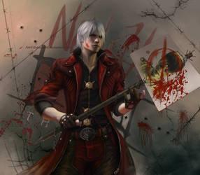 DANTE vs 'new Dante' by Zetsuai89