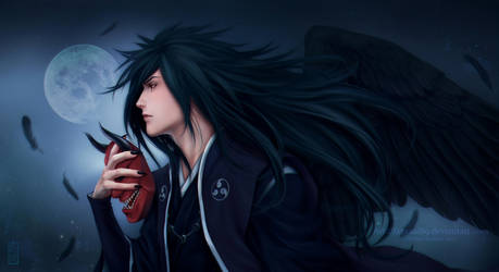 MADARA UCHIHA _ wings of color the soul by Zetsuai89