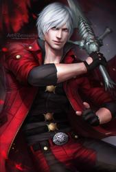 DANTE _ Rebellion by Zetsuai89