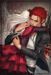 Mikoto and Anna by Zetsuai89