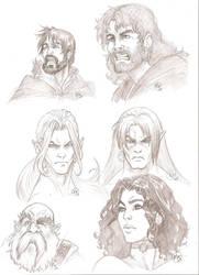 Warhammer sketchs by effix35
