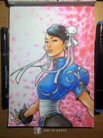 Chun Li Street Fighter by effix35