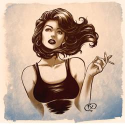 French Smocking Girl by effix35