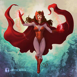 Marvel Avengers Scarlet Witch by effix35
