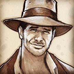 Indiana Jones by effix35