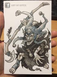 Goblin Shaman by effix35