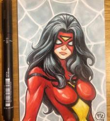 Marvel SpiderWoman by effix35