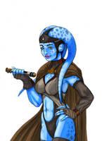 Star wars - jedi Aayla Secura by effix35