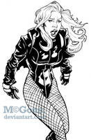 Black Canary by mcguan