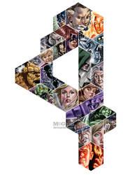 Fantastic Four (Color) by mcguan