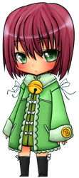 Chibi c: :COLOURED LINEART: by ArrowRules